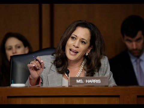 Sen. Kamala Harris Goes After Atty. Gen Jeff Sessions | Los Angeles Times