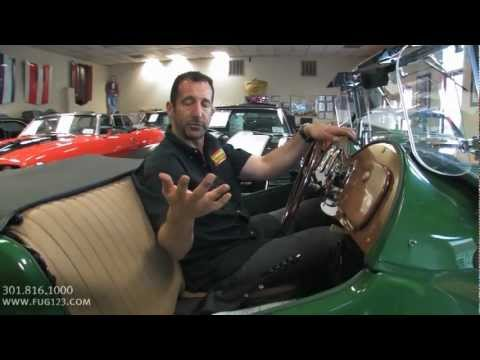 1953 MG TD Roadster Quick Look