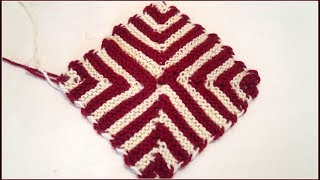 Amazing Square Doormat / Aashan From Wool