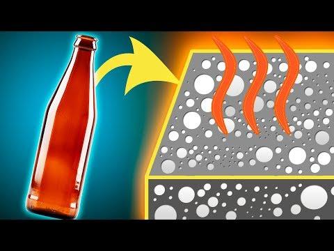 Как из бутылки сделать Утеплитель?