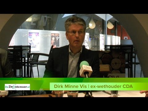 "VIDEO | Dirk Minne Vis: ""Rondom mijn functioneren is door collegeleden stemming gemaakt"""