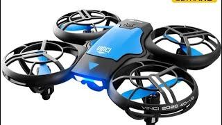 Mini Drone 4K 1080P HD Camera WiFi Fpv Air Pressure Height Maintain Foldable Quadcopter #short