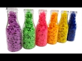 Learn Colors With Play Doh Bottle Star Dippin Dots Surprise Finger Famil...