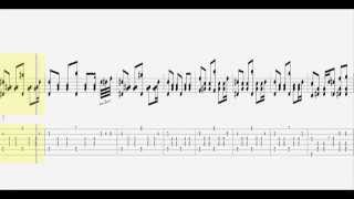 Yann Tiersen ~ La Dispute / Guitar Tab HD