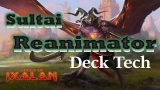 Sultai Reanimator a Competitive Deck Tech in Rivals of Ixalan!