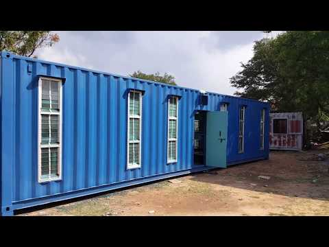 Portable Labour Camp Container