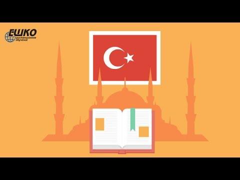 Турецкий язык. Употребление послелога için в турецком языке.