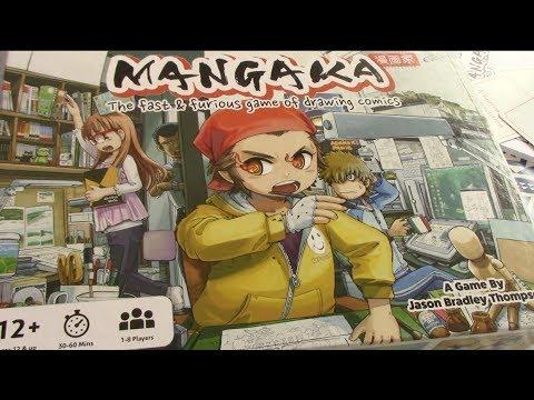 Box of Delights PRESENTS.............. Mangaka