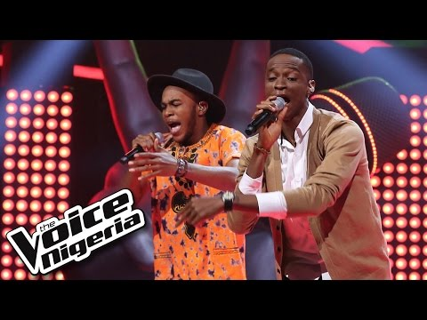 Prime vs Ralph Battle sing Rude - The Voice Nigeria 2016
