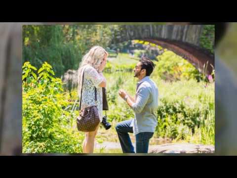 Kristin & Jeremy's Surprise Proposal in Central Park