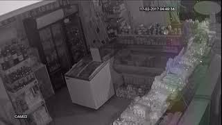 Ограбление магазина.