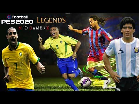 """PES 2020 Classic Patch V3 - """"Testando o Patch Legends"""" Download"""