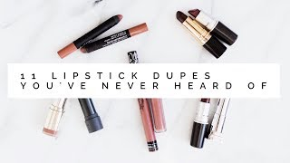 11 Lipstick Dupes You've Never Heard Of