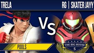 TBH5 Smash 4 - Trela (Ryu) vs RG | Skater Jayy (Samus, ZSS) - Pools