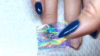 How To-Nail Transfer Foil