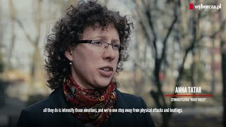 Anna Tatar in a documentary on hate crime in Poland, 5.04.2016 (with English subtitles).