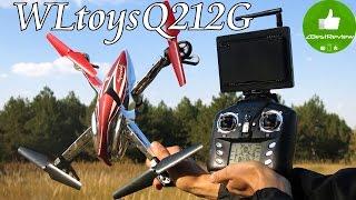 ✔ WLtoys Q212G - дешевый FPV квадрокоптер с барометром! Gearbest