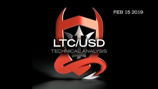 """""""LTCUSD"""" Technical Analysis (LTCUSD) : Sensei Hov putting the pieces together  2.15.2019"""