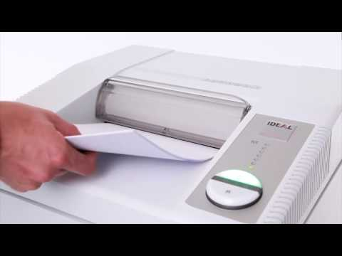Video of the IDEAL 3104 CC P-5 Shredder