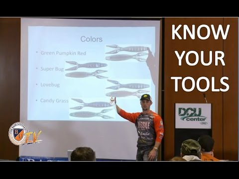 Know Your Bass Fishing Tools with JOHN CREWS