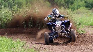 Butch Creek MX with TSM YFZ450R Rider Brandon Lenk