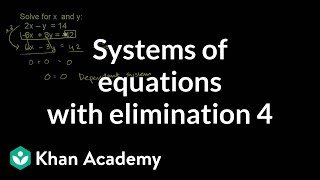 Addition Elimination Method 3