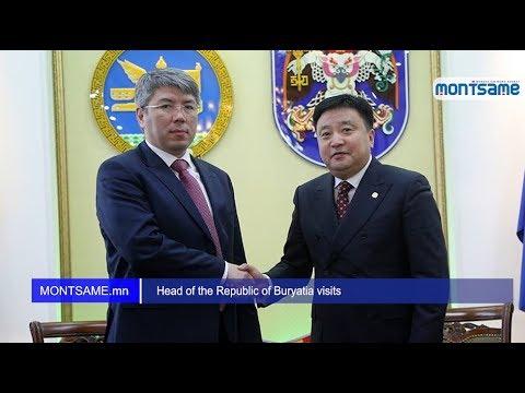 Head of the Republic of Buryatia visits