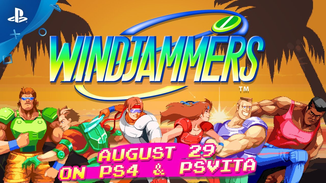 Windjammers Arrives August 29 on PS4, PS Vita