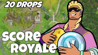 I Dropped Score Royale 20 Times and This Is What Happened (Fortnite)
