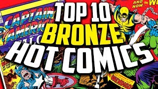 Top 10 Bronze Age Comics by Overstreet 2018!
