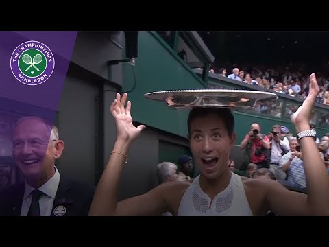 Wimbledon 2017 - Funny moments from The Championships