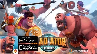 Gladiator Heroes - iOS/Android - Gameplay Video