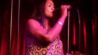 "Angela ""Angie"" Fisher - singing ""Sugar & Spice with a little Brown Sugar"""