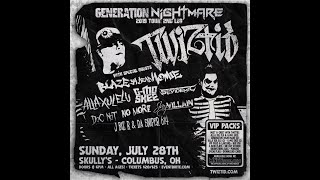 "Twiztid ""Magic Spellz"" Generation NIghtmare Tour 72819 Columbus, OH"