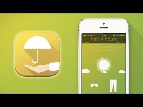 Weather Butler Animated [iPhone] Video review by Stelapps