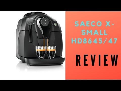, Saeco X-Small Vapore Automatic Espresso Machine, Black, HD8645/47 review
