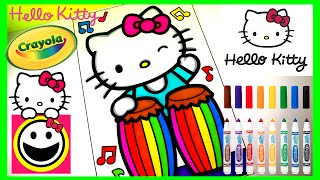 HELLO KITTY Playing The CONGA DRUMS