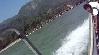 preview picture of video 'chatra ghat ma jet boat ko safar'
