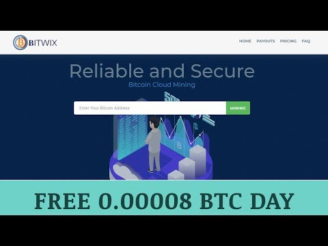 Bitwix.io отзывы 2019, mmgp, обзор, Bitcoin Cloud Mining, get Free 0.00008 BTC day