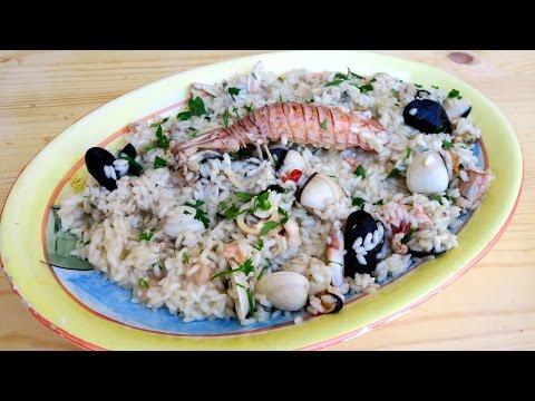 Nonna's Seafood Risotto Recipe (with Nonna) – Laura Vitale – Laura in the Kitchen Episode 935