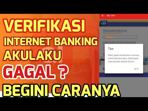 CARA VERIFIKASI INTERNET BANKING AKULAKU