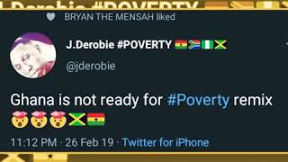 J Derobie Featuring PopCaan For Poverty Remix. Massive Hit.