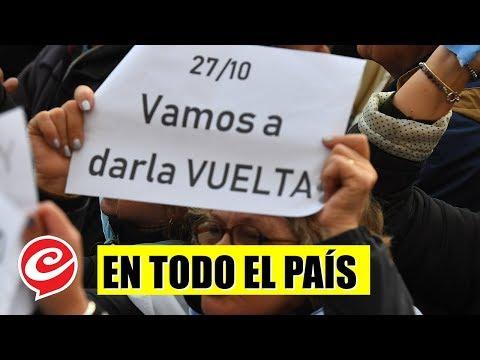 #24A: masivas movilizaciones en todo el país