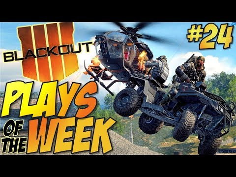 Call of Duty: Black Ops 4 - BLACKOUT Plays Of The Week #24 (BO4 Blackout Plays & Moments Montage)