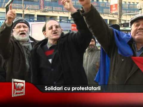 Solidari cu protestatarii