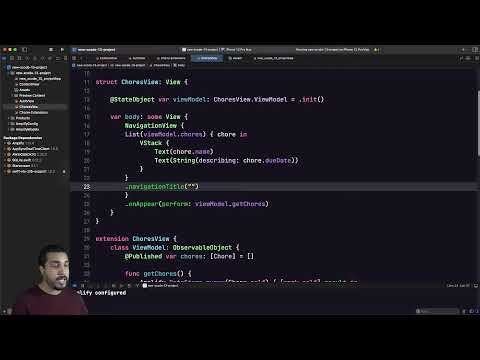Getting Started with AWS Amplify and Xcode 13 (beta) thumbnail