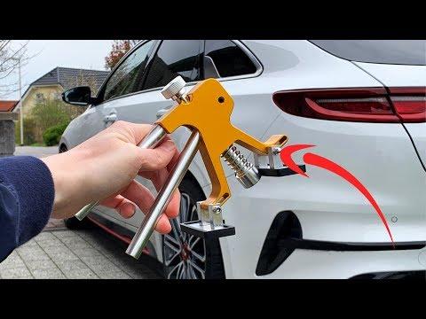 KKmoon Auto dellen reparaturset Paintless Dent Repair Tools Kit Dent Lifter Abzieher mit Saugnapf