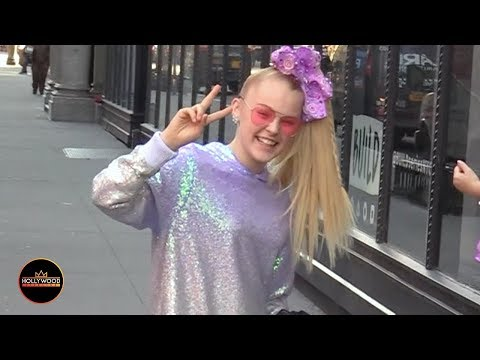 JoJo Siwa Takes Over NYC Covered in Sequins From Head to Toe