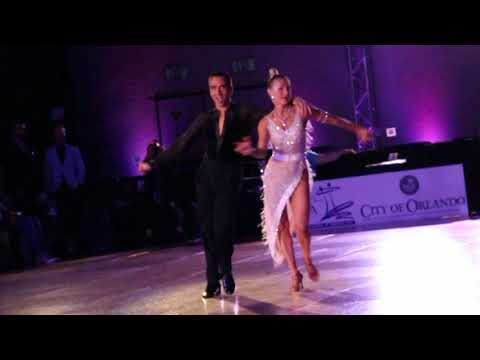 Zsolt Katona and Timea Potys, Pro Rising Star Latin, Cha Cha Dance On, South Open Championships 2019