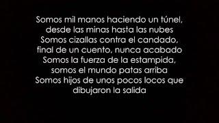 La Raíz - Entre Poetas Y Presos (letra)
